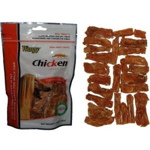 WANPY DOG Chicken Jerky CUT 100g