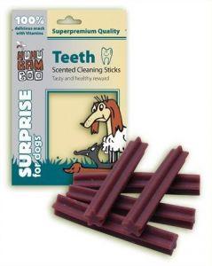 Huhu Teeth - Dentální tyčky na čištění zubů s vůní 75g