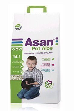 Asan Pet Family ekologické stelivo 14l