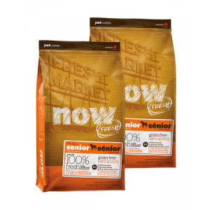 PetCurean NOW FRESH Grain Free Senior 2 x 11,33kg