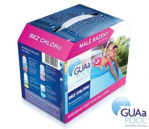 GUAA Sada bezchlórové chemie pro malé bazény