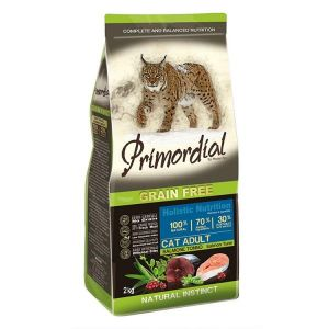 Primordial Pet Food PGF Cat Adult Salmon & Tuna 2kg