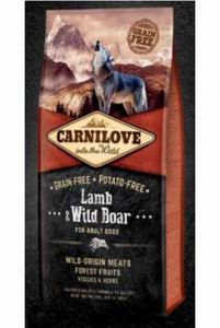 Carnilove Dog Lamb & Wild Boar for Adult  NEW 3x12kg
