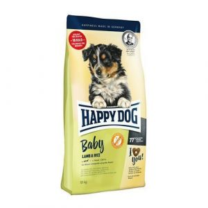 Happy Dog Baby Lamb & Rice 2x10kg + 4 x konzerva 400g
