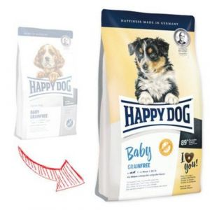 Happy Dog Baby Grainfree 10kg + 2 x konzerva 400g