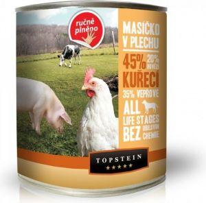 Topstein masíčko v plechu - kuřecí 6 x 850g