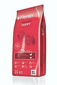 Fitmin Dog Medium Puppy 2x15kg + Pochoutka Denta Stix