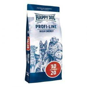 Happy Dog Profi-Line 30/20 High Energy 20+20kg + Sušené maso 75g ZDARMA