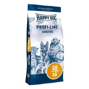 Happy Dog Profi Line Sportive 20kg + Sušené maso 75g ZDARMA