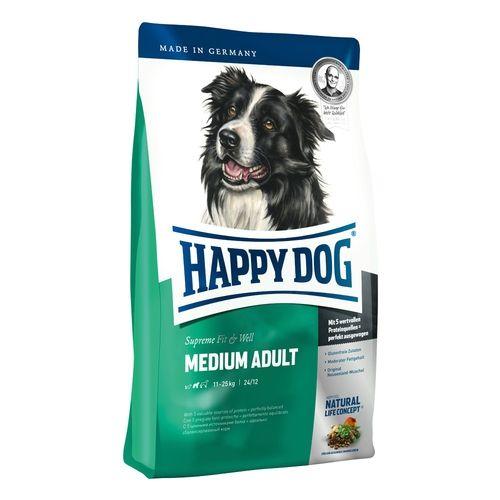 Happy Dog Supreme Adult Fit & Well Medium 3 x 12,5 kg
