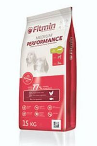 Fitmin Dog Medium Performance 3x15kg + Pochoutka 250g ZDARMA
