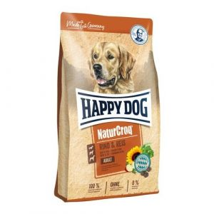 HAPPY DOG NATUR Croq Rind & Reis 15+15kg