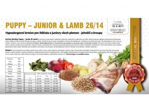 Bardog Puppy-Junior Lamb 2x12kg