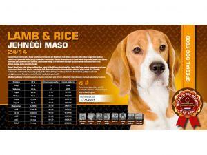 Bardog Lamb & Rice 2x15kg