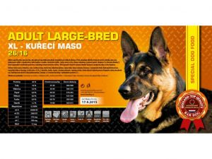 Bardog Adult Large Breed XL 2x15kg