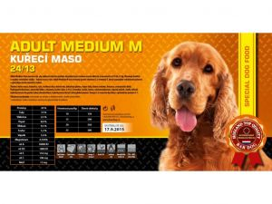 Bardog Adult Medium M 2x15kg