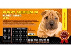 Bardog Puppy Medium M 2x15kg