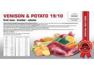 Bardog Venison & Potato 2x12kg