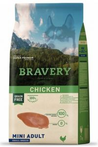 BRAVERY dog ADULT MINI Grain Free chicken 7kg