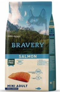 BRAVERY dog ADULT MINI Grain Free salmon 7kg