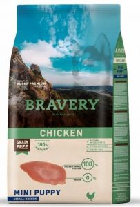 BRAVERY dog PUPPY MINI Grain Free chicken 7kg
