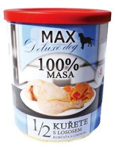 MAX deluxe 1/2 kuřete s lososem 800g