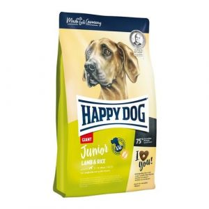 Happy Dog Junior Giant Lamb & Rice 2x15kg