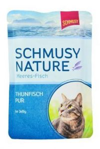 Schmusy Cat kapsa Fish tuňák v želé 100g