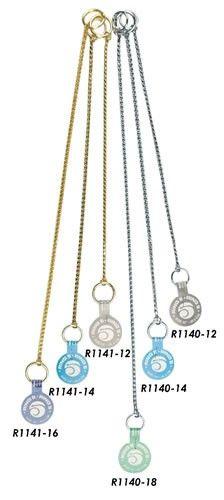 Výstavní řetízek - stříbrná Ring5