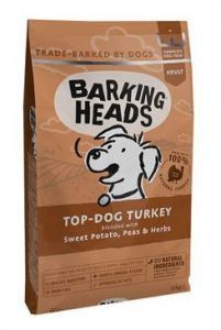 BARKING HEADS Top Dog Turkey 2x12kg