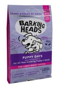 BARKING HEADS Puppy Days NEW (Large Breed) 2x12kg