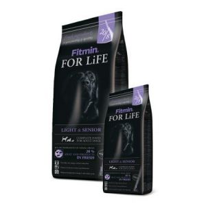 Fitmin Dog FOR LiFE senior/light 15kg