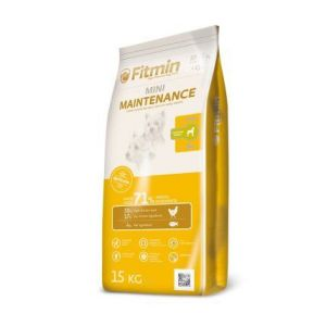 Fitmin Dog Mini Maintenance 15kg + Pochoutka Denta Stix ZDARMA