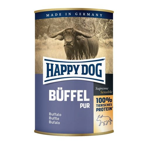HAPPY DOG Buffel Pur - bůvolí 400g