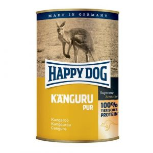 Happy Dog Känguru Pur - klokaní 400g