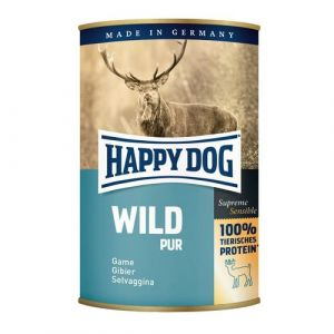 HAPPY DOG Wild Pur - zvěřinová 400g