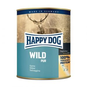 HAPPY DOG Wild Pur - zvěřinová 800g