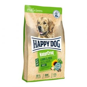 HAPPY Dog NATUR Croq Lamm&Reis 3x15kg