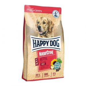 HAPPY Dog NATUR Croq Active 3x15kg
