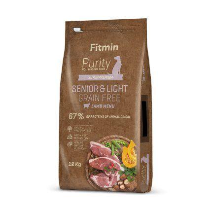Fitmin Purity Grain Free Senior&Light Lamb 2x12kg