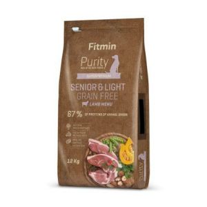 Fitmin Purity Grain Free Senior&Light Lamb 2kg
