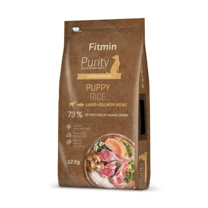 Fitmin Purity Rice Puppy Lamb&Salmon 2x12kg