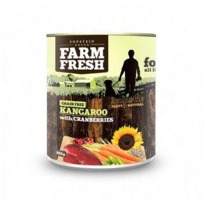 Farm Fresh Kangaroo with Cranberries 400g 5+1 ZDARMA