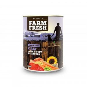 Farm Fresh Calf with Sweet Potatoes 400g 5+1 ZDARMA