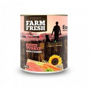 Farm Fresh Turkey with Carrot 400g 5+1 ZDARMA