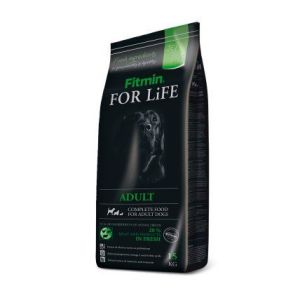 Fitmin Dog FOR LiFE adult 15kg + Perfecto Dog plátky  (20ks/200g)