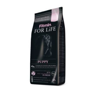 Fitmin Dog FOR LiFE puppy 15kg + Pochoutka Denta Stix