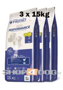 Fitmin Dog Maxi Performance 3x15kg + Pochoutka 250g ZDARMA