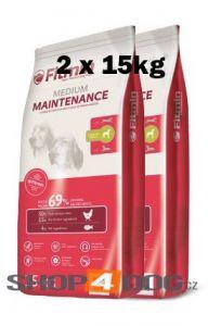 Fitmin Dog Medium Maintenance 2 x 15kg new + Pochoutka Denta Stix