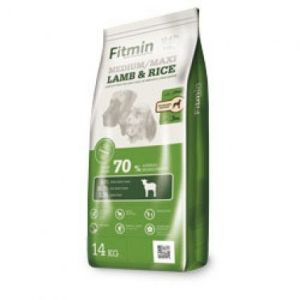 Fitmin dog medium maxi lamb&rice 14kg + Pochoutka Denta Stix